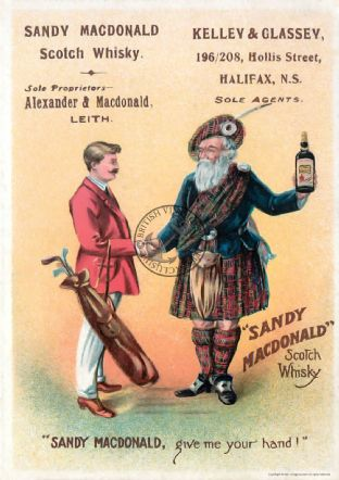 Scotch Whisky Advert Poster